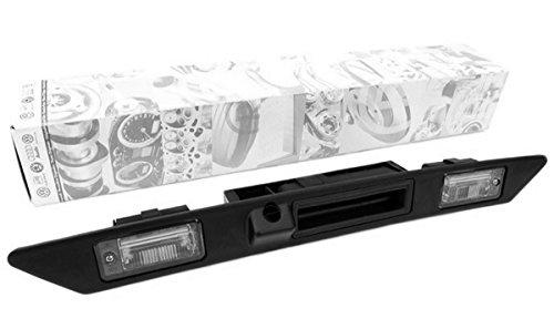 Poignée baguette pour Audi d'origine avec découpe pour caméra de recul + éclairage de plaque d'immatriculation bouton-poussoir hayon