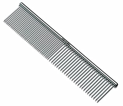 Andis (Pet) 7-1/2-Inch Steel Comb ,Silver by Andis