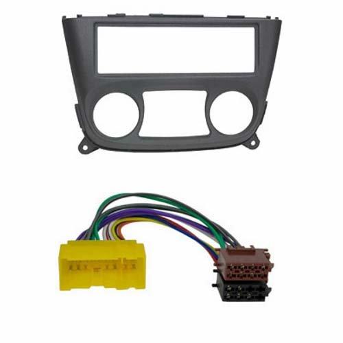Baseline Connect Kit d'encastrement de radio Nissan (Almera N16) Noir