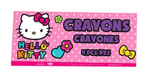 Amscan 397446 Hello Kitty Crayons   Party Favor   1 piece
