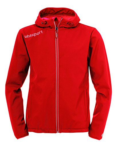 uhlsport Essential Softshell Veste Homme, Rouge, FR (Taille Fabricant : XXS)