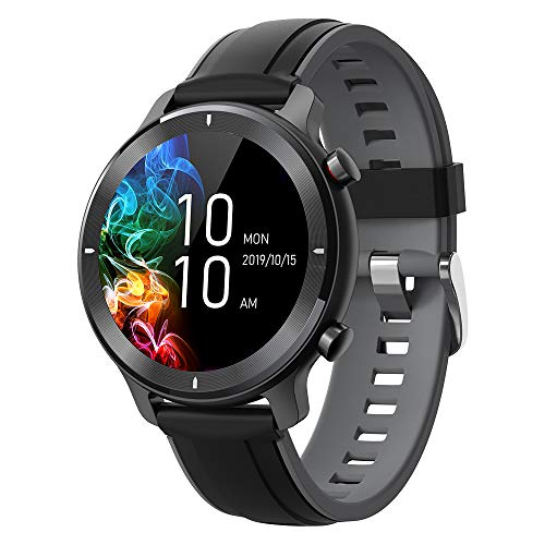 gandley Smartwatch, Fitness Tracker Armbanduhr für Damen Herren, IP68 Wasserdicht Sportuhr mit Pulsuhr, Schlafmonitor, Schrittzähler, Blutdruckmessung, Touchscreen Smart Watch R& für IOS Android