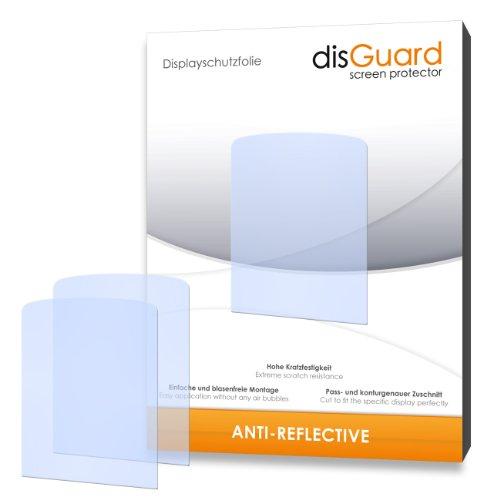 disGuard® displaybeschermfolie [Anti-Reflex] compatibel met Philips GoGear Azure 8GB SA5AZU08WF [4 stuks] ontspiegelend, mat, antireflecterend, extreem krasbestendig, anti-vingerafdruk - pantserglasfolie, beschermfolie