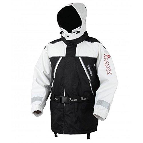 Imax AquaBreathe Floatation Suit White/Black - 2pcs Gr:M Schwimmanzug