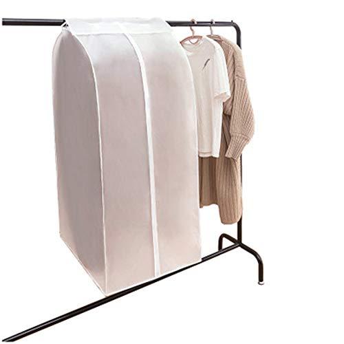 Fanville Funda para ropa, no tejida, para colgar ropa, para almacenamiento, ropa colgante, traje a prueba de polvo, transparente