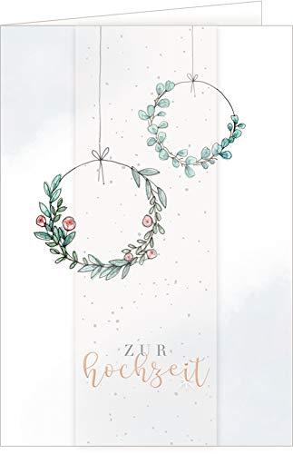 Grußkarte - Zur Hochzeit