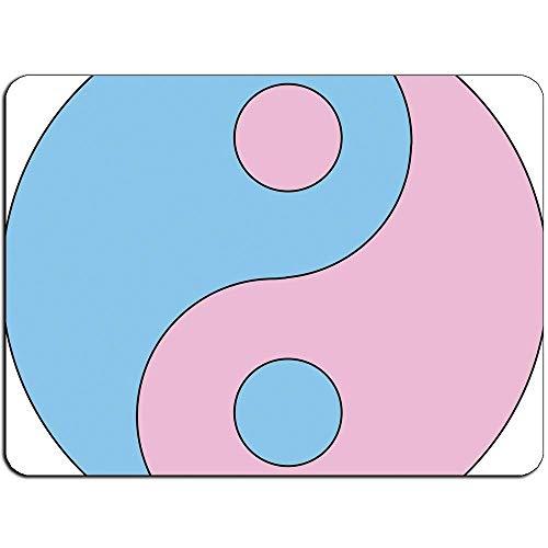 Yin Yang Pink Mousepad -Non Slip Mouse Pad