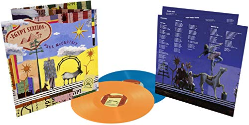 ᵕ ΕGΥΡΤ SΤΑΤΙΟΝ ᵔ Limited Deluxe Coloured Edition 180g 2LP Vinyl (6-panel gatefold cover w/ a full color tri-fold, 6-panel insert)