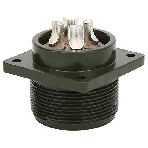 Conector de enchufe de aviación duradero, conector de motor, sin rebabas Convenientes circuitos de conexión suave para circuitos eléctricos