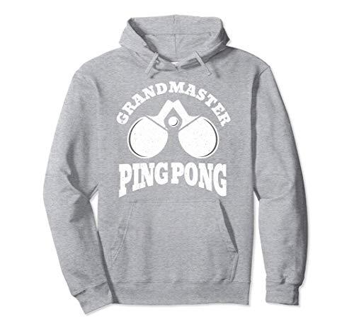 Campione di tennis da tavolo Grandmaster Ping Pong Felpa con Cappuccio