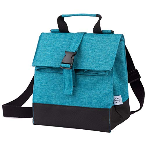 Wishbax Insulated Lunch Bags for Women - Lunch Box for Women Womens Lunch Tote Lunch Bag for Women Womens Lunch Bag Womens Lunch Box Lunchboxes Women Small Lunch Bags for Women Insulated