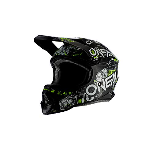 3SRS Helmet ATTACK 2.0 black/neon yellow M (57/58 cm)