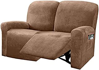 Ultimate Decor Reclining Love Seat Slipcover, 6-Piece...