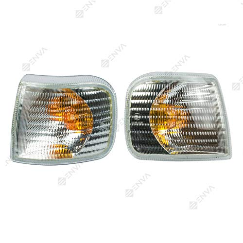 Par de luces intermitentes delanteras compatibles con Premium I 1996 a 2005 Midlum 1996 a 2005 Kerax 1996 a 2005 5001834559 5001020318 5001834560