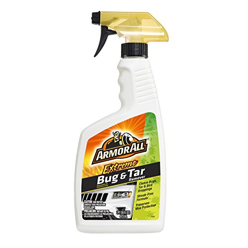 Armor All Car Bug & Tar Cleaner Spray Bottle, Cleaner for Cars, Truck, Motorcycle, Extreme, 16 Fl Oz, 18498