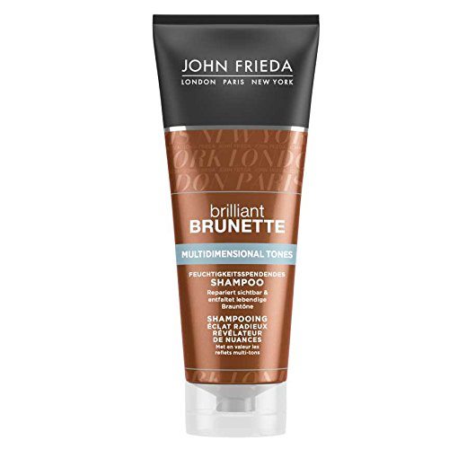 John Frieda Brilliant Brunette Colour Protection Shampoo - 1er Pack (1 x 250 ml)