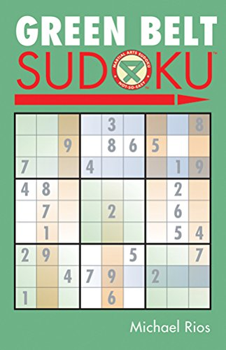 Compare Textbook Prices for Green Belt Sudoku® Martial Arts Puzzles Series  ISBN 9781402735967 by Rios, Michael