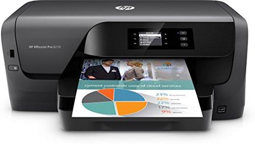 Impresora inyección de tinta HP OfficeJet Pro 8210, Resolución 1200 x 1200, Ethernet, USB 2.0, LAN...