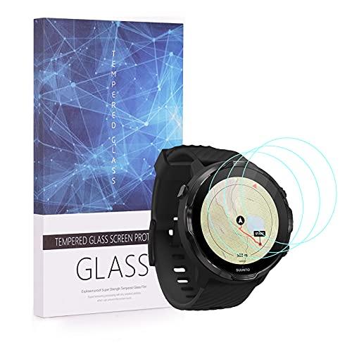 Protector de pantalla de lujo para Suunto 7 Smartwatch Accesorios de vidrio...