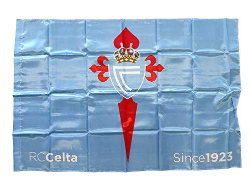 R.C. Celta de Vigo Bandera, Adultos Unisex, Celeste, Grande
