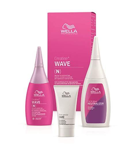 Wella CREATINE+ WAVE N HAIR KIT 75+100+30ml, 1 Stück)