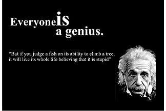 Best everyone is a genius einstein quote Reviews
