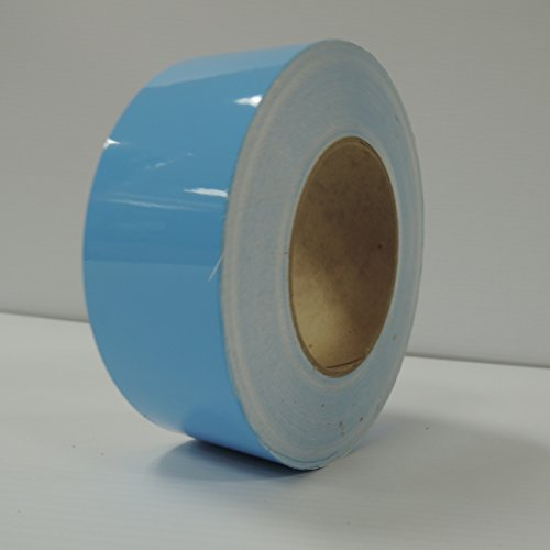"""2"""" 3M Vinyl Striping 150' 25 Colors Available (Light Blue)"""