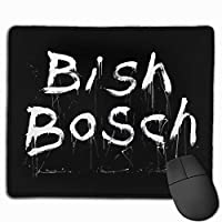 高級感 おしゃれ Bish (4) 防水3d柄プリント大型 ゲー マウスパッオフィスマウスパッド 耐久性が良い 滑り止めゴム底 オフィス/サイバーカフェなど適