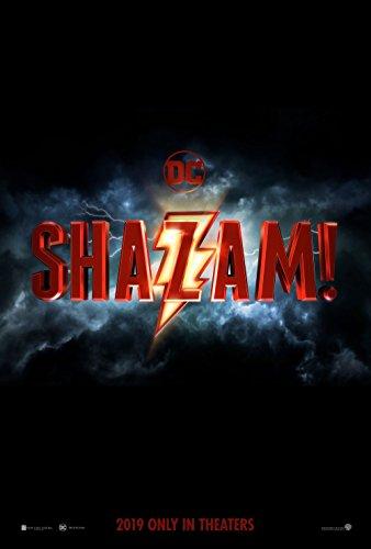 Poster Shazam Movie 70 X 45 cm