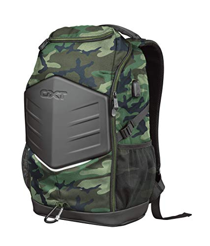 Trust GXT 1255 Outlaw 15,6 Zoll-Gaming-Rucksack Jungle Camo