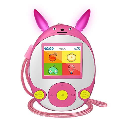 Product Image of the Wiwoo Bluetooth MP3 Player for Kids, 8GB Lossless Portable Music Player with...