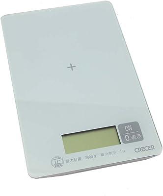 デジタルキッチンスケール 3kg CK-010W
