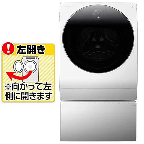 LGエレクトロニクス 【左開き】13.0kg(11.0kg+2.0kg)二層ドラム式洗濯乾燥機 LG SIGNATURE ホワイト SGD...