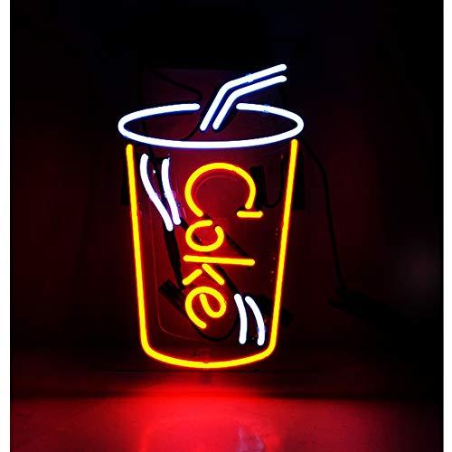 COKE Neon Licht Signs, Handgefertigt für Zuhause, Geburtstagsgeschenk, Schlafzimmer, Pub, Hotel, Strand Erholung, Wandschild, Dekoration