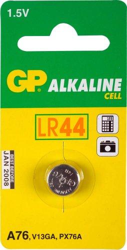 GP Batteries PRIMARY BATTERIES GPA76Alkali 1,5V Batterie–Batterien (Alkali, 1,5V, 11,6mm, 11,6mm, 5,4mm, 1,9g)