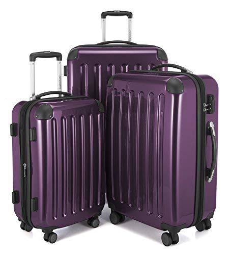 Hauptstadtkoffer Set di valigie, melanzana (viola) - 82782016