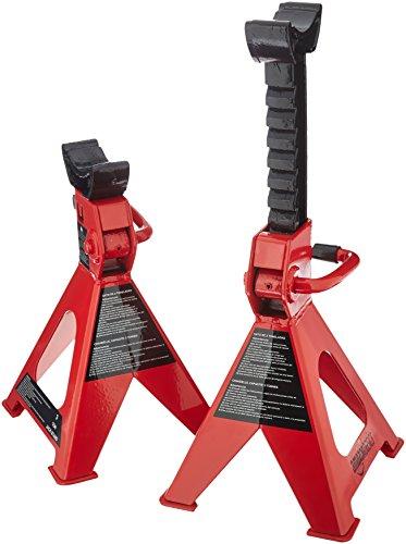 AmazonBasics Steel Jack Auto Stands, 3 Ton Capacity, 1 Pair