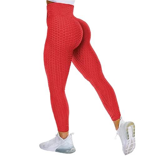 QTJY Leggings sin Costuras para Mujer, Pantalones de Yoga Push-up elásticos y de Secado rápido, Cintura Alta, Sentadillas, Leggings para Correr HS