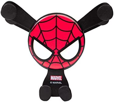 MINISO Marvel Car Phone Mount Air Vent Cell Phone Holder Fit 4 6 5 Device Easy Clamp Cradle product image