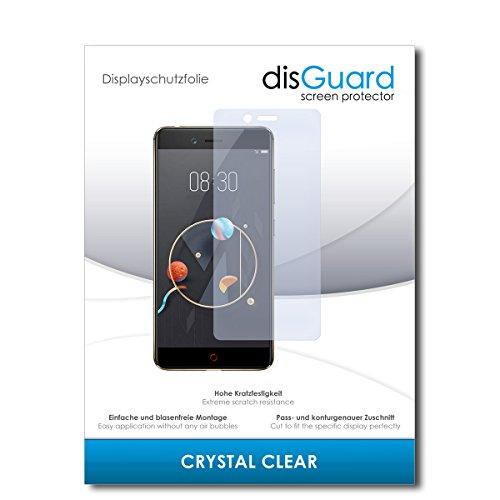 disGuard® Bildschirmschutzfolie [Crystal Clear] kompatibel mit Archos Diamond Alpha+ [2 Stück] Kristallklar, Transparent, Unsichtbar, Extrem Kratzfest, Anti-Fingerabdruck - Panzerglas Folie, Schutzfolie