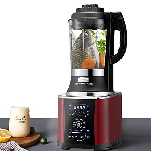 ALY Licuadora Extractor de Zumo con cocción preservación del Calor función de Cita Prensado Licuadoras para Verduras y Frutas Pasta de arroz Sopa de Pescado etc