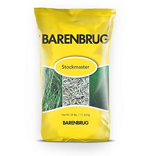 Barenbrug Stockmaster Premium Multi-Purpose Pasture Grass and Forage Seed Mix, (25 LB Bag)