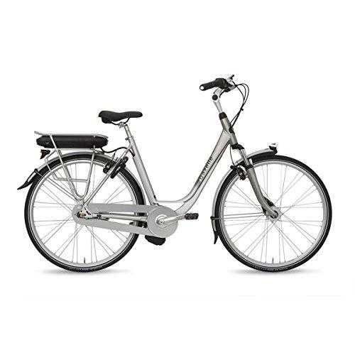 E-Bike Gazelle Arroyo C7 Hybrid M 28\' 7-G Bright aluminum ohne Akku! , Rahmenhöhen:53 cm