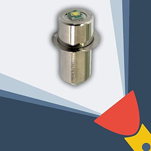LED Conversión Actualizar Bombilla Herramienta Eléctrica Para Linternas Bosch DeWalt Makita Hitachi Milwaukee Panasonic Ryobi Worx Black & Decker Snap-on 9.6 12 14.4 18 24v CREE
