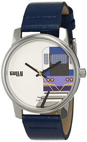 Gully by Timex Travel Analog White Dial Men's Watch-TWGYG0107
