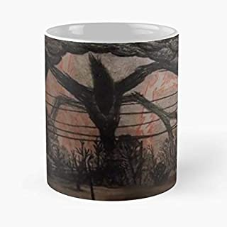 Stranger Things Shadow Monster Drawing Classic Mug - 11 Oz Coffee Mug- Unique Birthday Gift The Best Gift For Holidays.