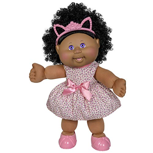 """Cabbage Patch Kids New 14"""" Kid Doll - Girl in Kitty Outfit, Multicolor"""