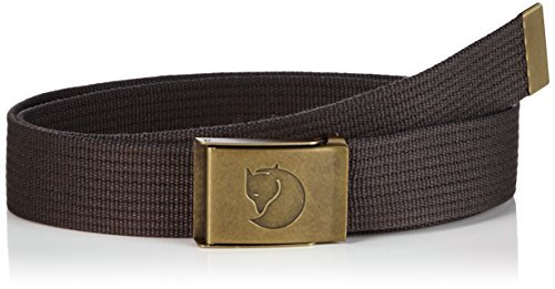 Fjällräven Gürtel Canvas Brass, Black, One Size, 77297 by Fjällräven