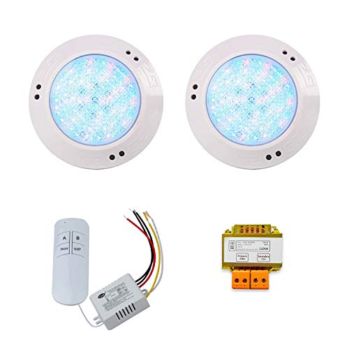 Pack Focos LED RGB ON/OFF 10W par Piscina de 15 cm de...