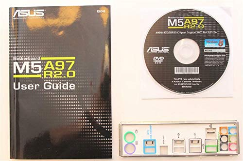 ASUS M5A97 R2.0 - Handbuch - Blende - Treiber CD